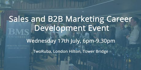 Sales and Marketing Career Development Event tickets