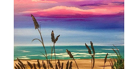 'Twilight Walk on the Beach' Sip & Paint Workshop tickets