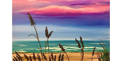 'Twilight Walk on the Beach' Sip & Paint Workshop