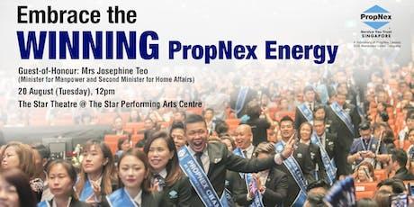 PropNex 2nd Quarterly Convention 2019 tickets