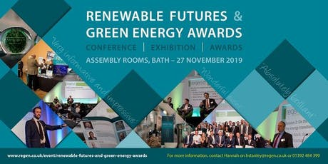 Renewable Futures and Green Energy Awards tickets