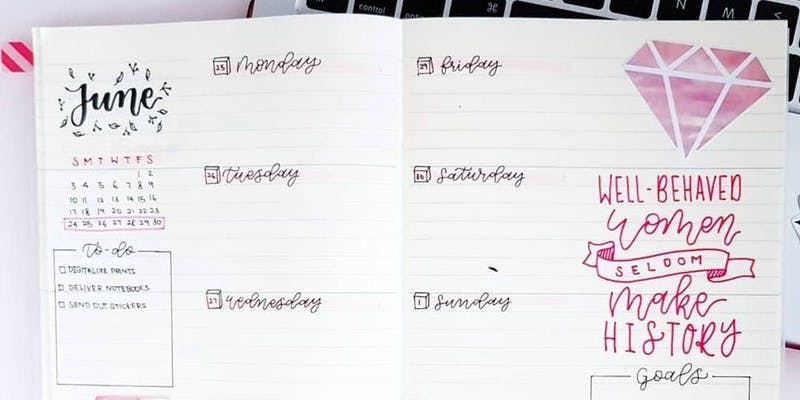 Workshop: Visual Daily Planner by Zoey Chua
