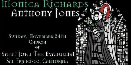 Monica Richards & Anthony Jones tickets