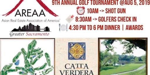 AREAA Sacramento 9th Annual Golf Tournament