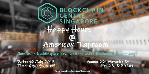 Blockchain Centre Singapore Happy Hours @American Taproom