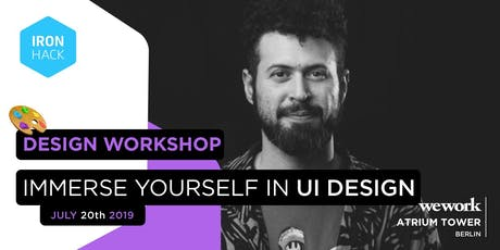 Immerse Yourself in UI Design | Full-Day Workshop Tickets