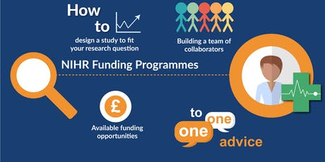 Developing funding proposals in applied health and social care: NIHR funding programmes tickets
