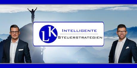 INTELLIGENTE STEUERSTRATEGIEN für Selbstständige, Handwerker und Dienstleister Tickets