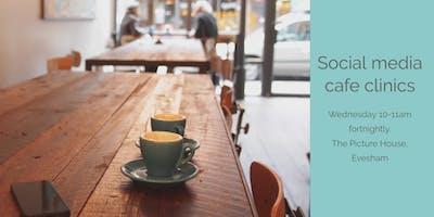 Social media cafe clinic