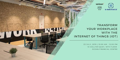Powering Your Workplace With IoT - Internet of Things tickets