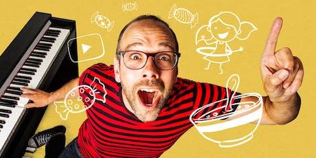 Jasper Smit - Ik heb een heel vies woord geleerd, dat woord dat rijmt op stoep! 6+ tickets