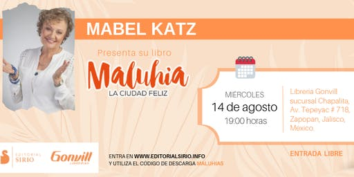 Mabel Katz en Jalisco (México)
