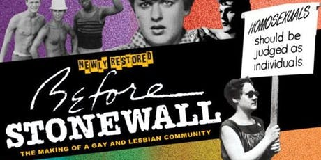 Before Stonewall tickets