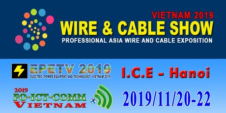 Wire & Cable Show Vietnam 2019 tickets