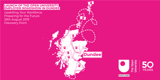 Launch of the Open University Employer Roadshow in Dundee