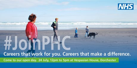 Careers in PHC  drop-in open day tickets