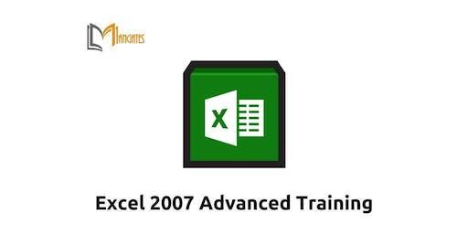 Excel 2007 Advanced 1 Day Virtual Live Training in Burlington, MA