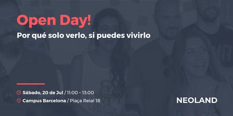 Open Day! Barcelona entradas