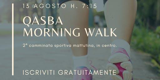 Camminata mattutina nel centro storico di Mazara del Vallo