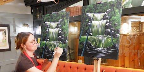Emerald Falls Brush Party - Watford tickets