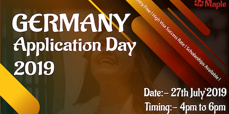 Germany Application Day - 27th July'19 tickets