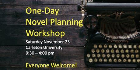 One-Day Novel Planning Workshop tickets
