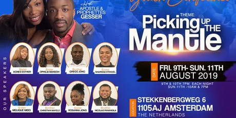 Picking up the Mantle Youth and Young Adults Conference tickets
