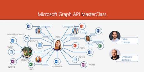 Microsoft Graph API MasterClass tickets