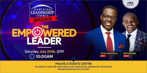Dominion Leadership Summit 2019: The Empowered Leader