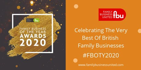 Family Business Of The Year Awards 2020 tickets