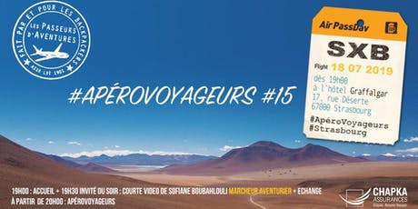 ApéroVoyageurs  Strasbourg #15 tickets