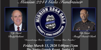 The First Annual Mission 2244 Gala For The Fallen Officers