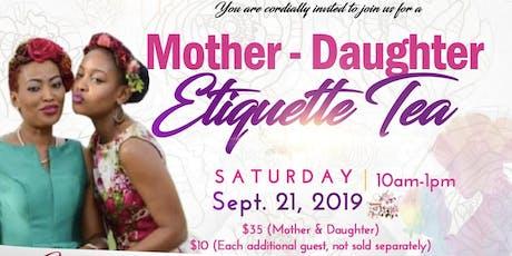 Mother Daughter Etiquette Tea tickets