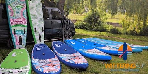 Paddleboarding For Beginners on The River Avon!