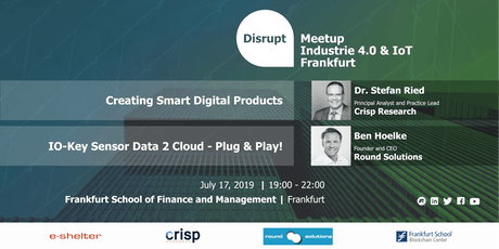 Disrupt Meetup | Smart Devices and IoT - What makes them smart? Tickets