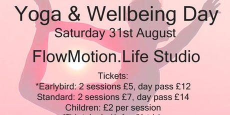 Yoga and Wellbeing Day tickets