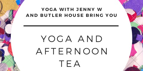 Yoga and Light Afternoon Tea