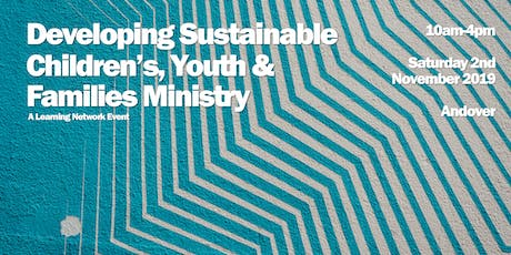 Developing Sustainable Children's, Youth & Families Ministry tickets