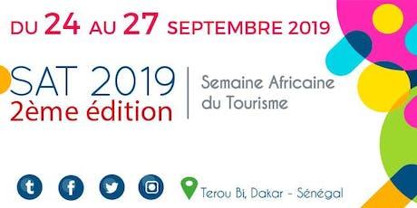 Semaine Africaine du Tourisme - SAT tickets