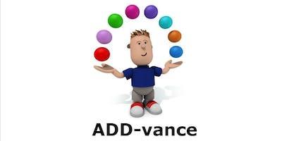 ADD-vance Understanding ADHD six week course for Parent/Carers - Watford - Autumn 2019