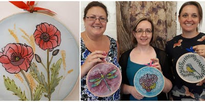 Craft Workshop: Adults Silk Painting in Trowbridge, Wiltshire