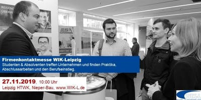 Firmenkontaktmesse WIK-Leipzig HTWK