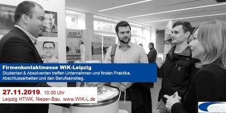 Firmenkontaktmesse WIK-Leipzig HTWK Tickets