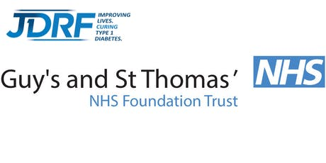 'Living Well with Type 1' Patient event (JDRF collaborative with Guys' and St Thomas') tickets