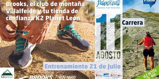 Prepara tu carrera de Trail Running de Villalfeide con Brooks, K2 Planet y el club de montaña Villalfeide