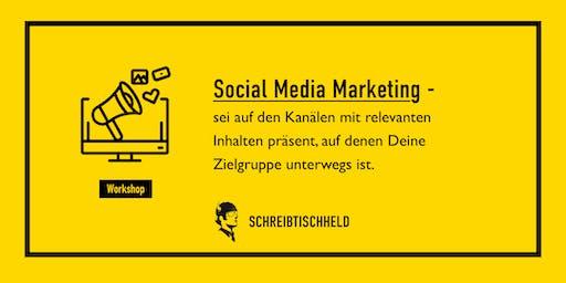 Workshop Social Media Marketing mit Benedikt Friedrich // SCHREIBTISCHHELD