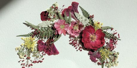 September Victorian Pressed Flower Workshop tickets
