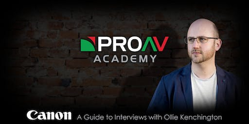 A Guide to Interviews with Ollie Kenchington