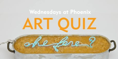 Wednesdays at Phoenix: Art Quiz (2 Oct) tickets