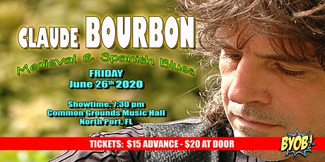 Claude Bourbon Returns tickets